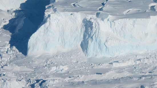 Scientists claim to have photographed foothills of Thawites Glacier